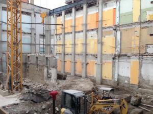 Via Sanremo 9. Stato attuale dei lavori