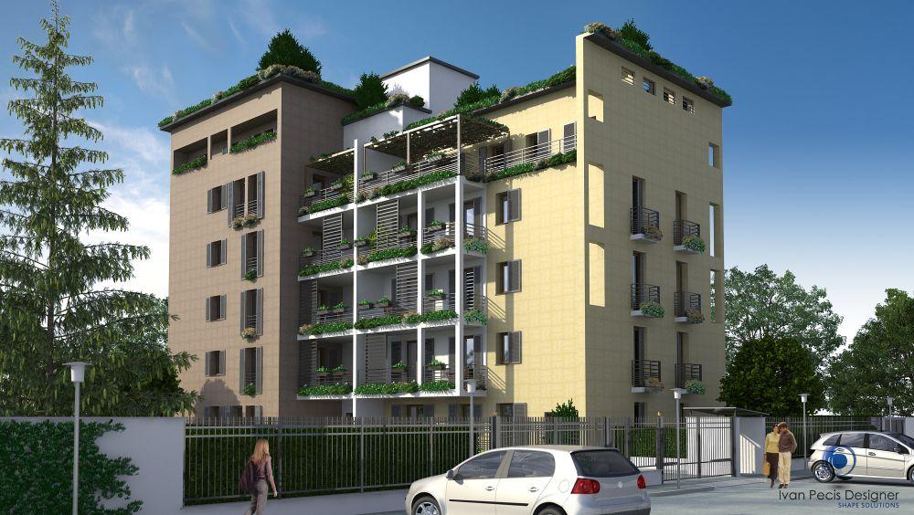 Residenza Le Terrazze - Gallarate - Render