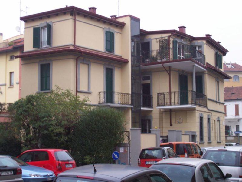 Via Mola - Milano - Facciata Dopo Intervento